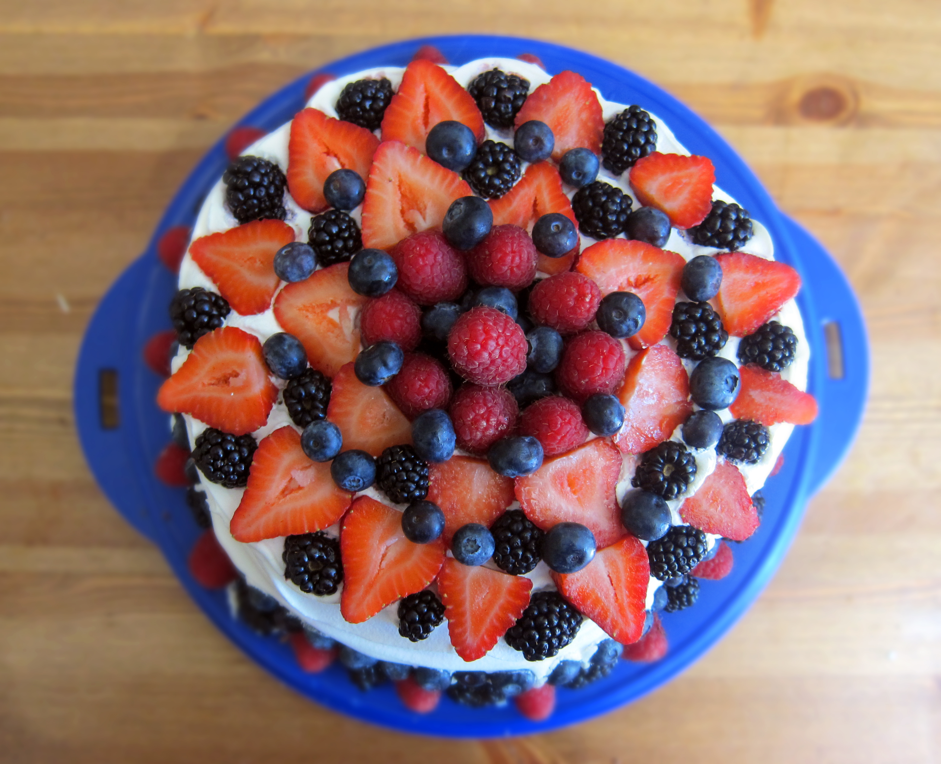 Classic July 4th Cake – Cheater Edition