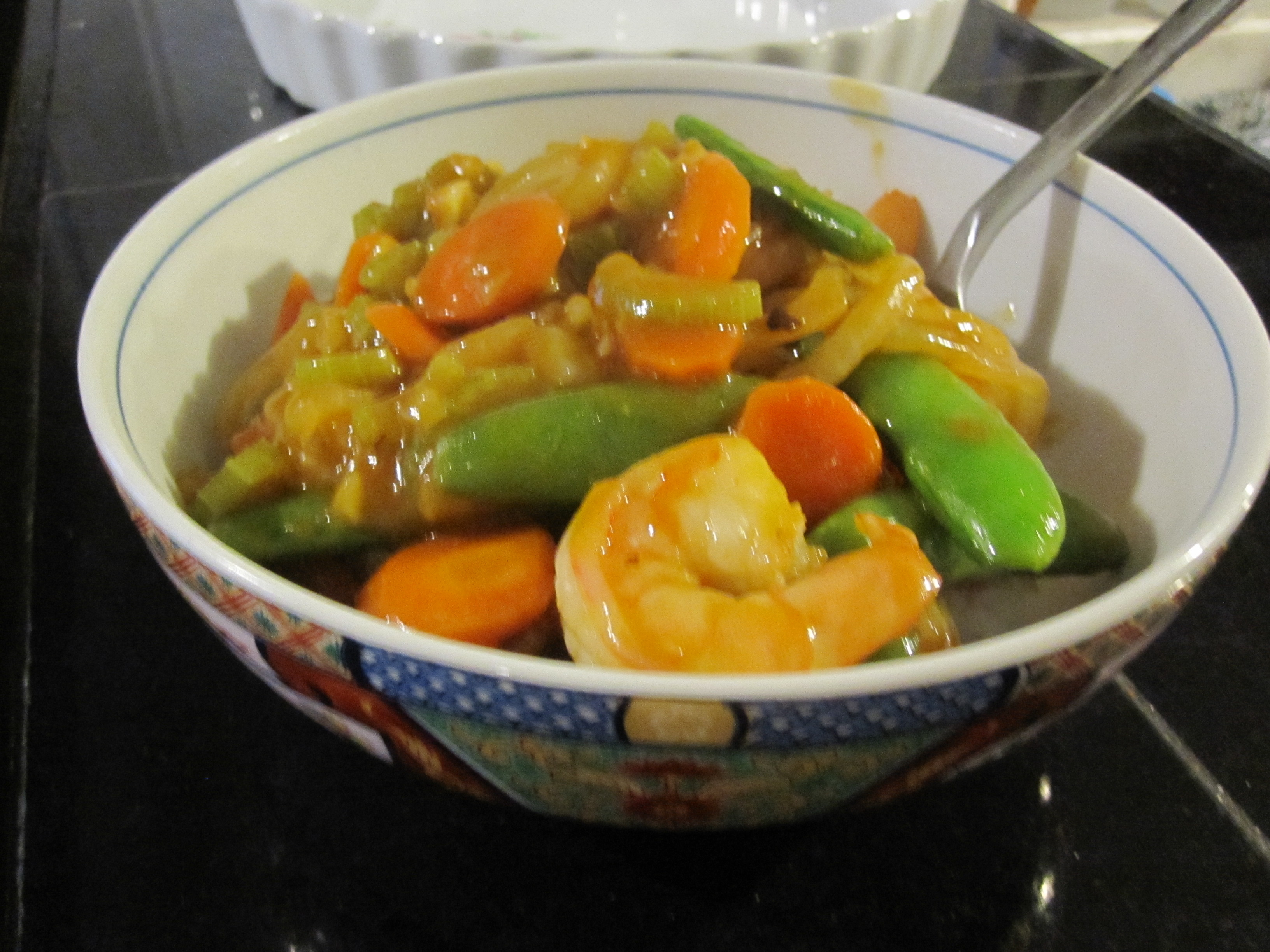 Szechwan Shrimp & Vegetable Stir Fry