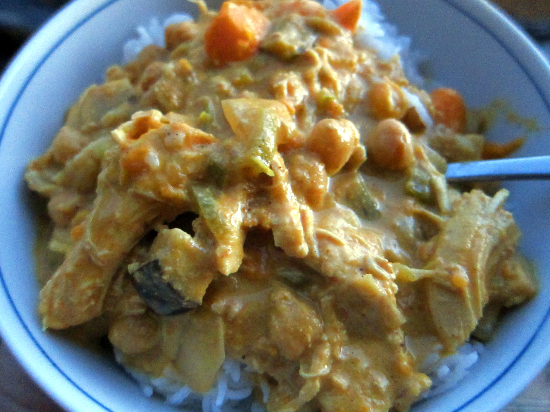 Crockpot Yellow Curry