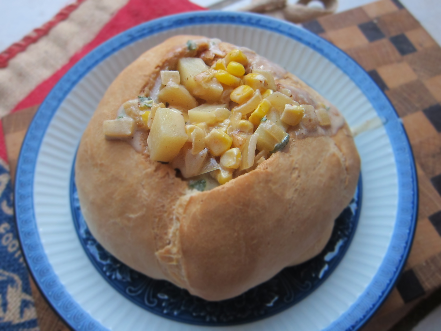 Easy Bread Bowl Recipe