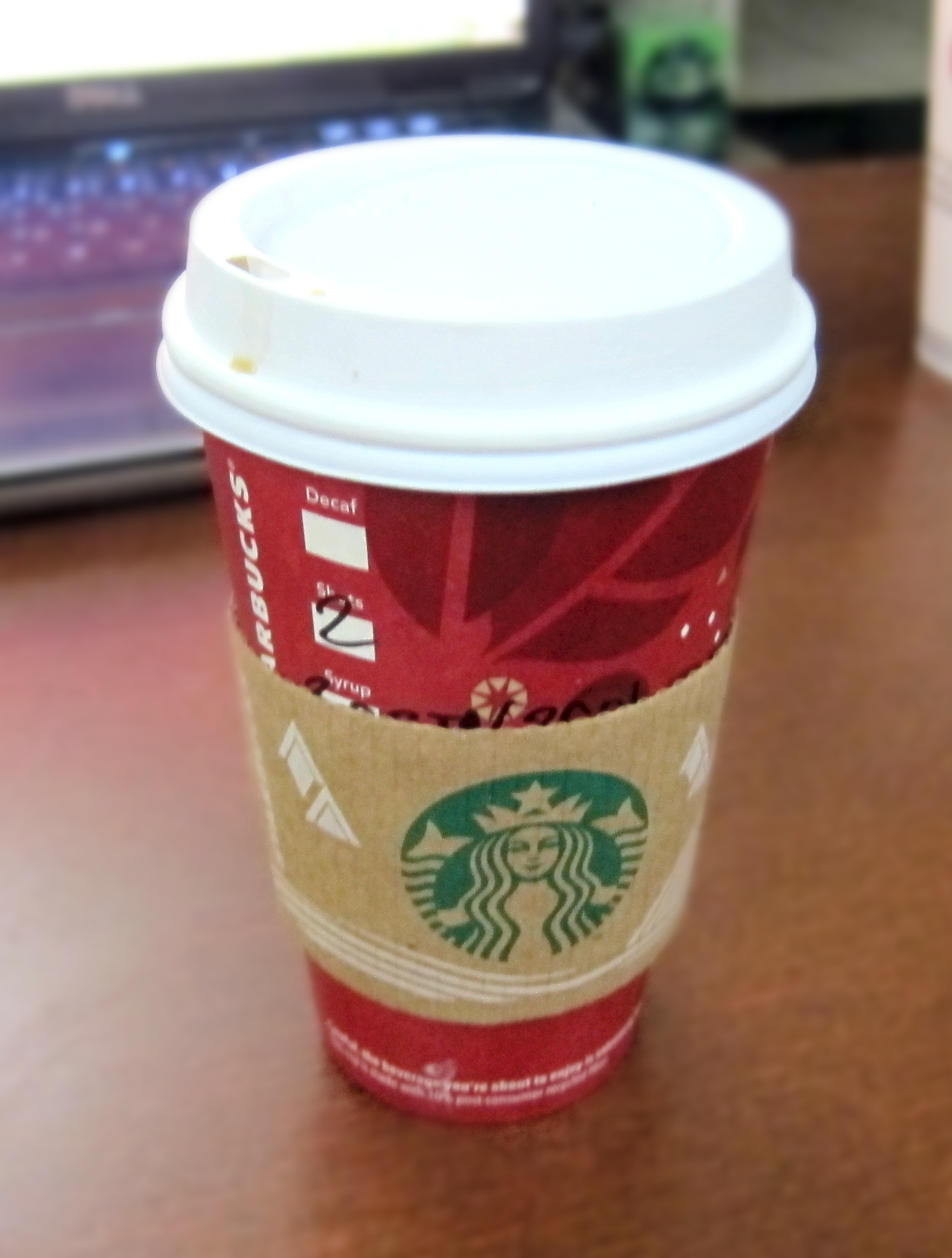 Butterbeer Lattes OR How to confuse your local Starbucks Barista
