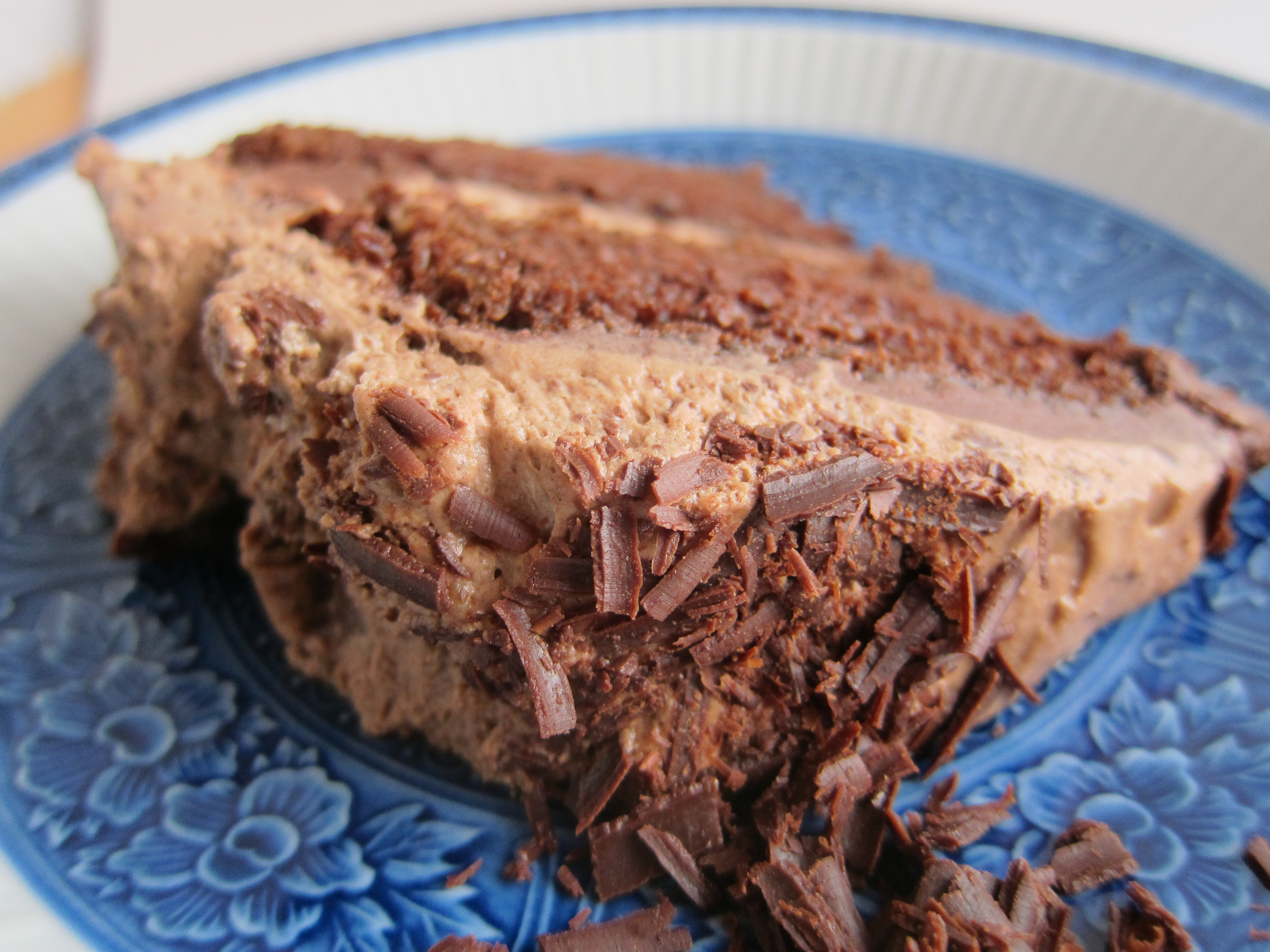 Irish Chocolate Mousse Cake