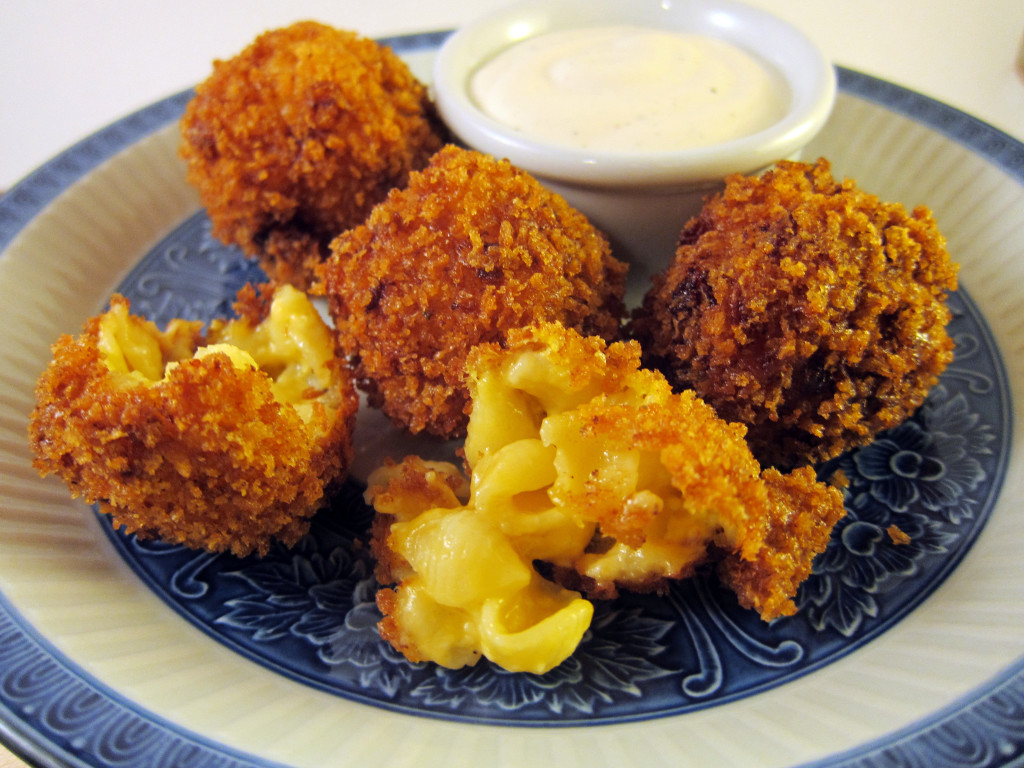 Fried Macaroni & Cheese Balls | Qwerty Cafe