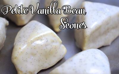 Copy-cat Recipe: Petite Vanilla Bean Scones
