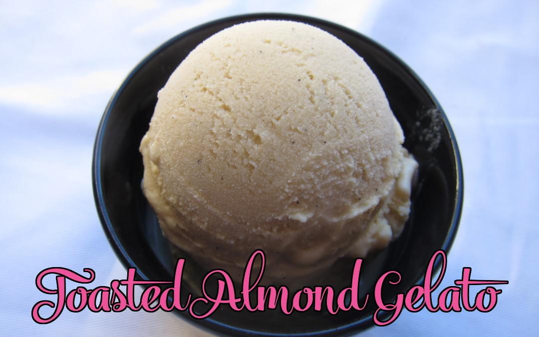 Toasted Almond Gelato