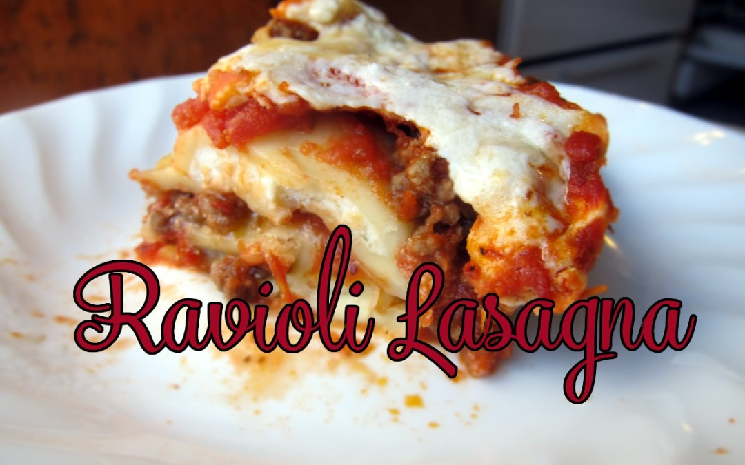 Pasta-Inception — Ravioli Lasagna