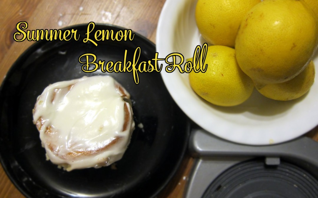 Summer Lemon Breakfast Rolls