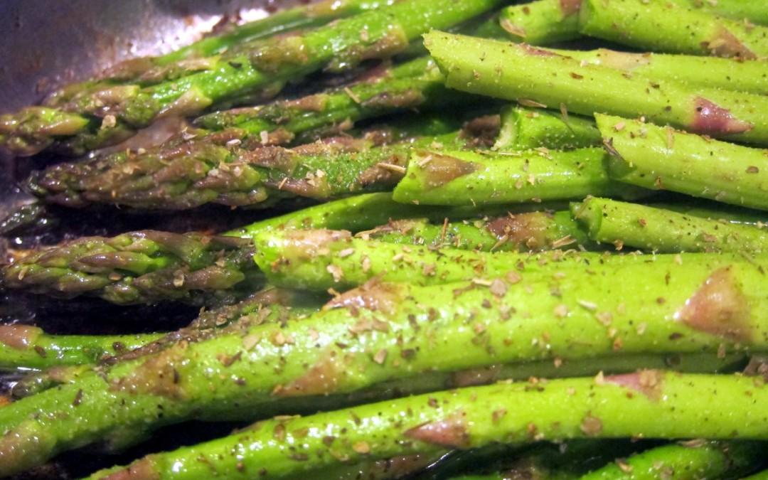 Pork Fat Asparagus