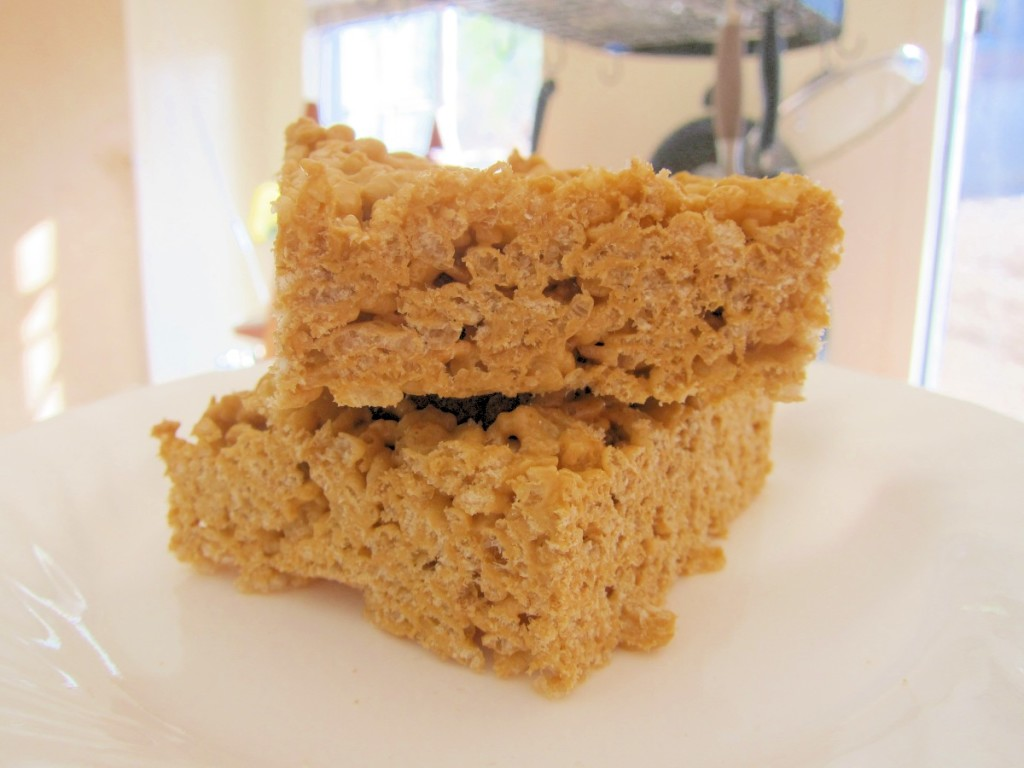 pumpkin spice rice cripsy treats 2