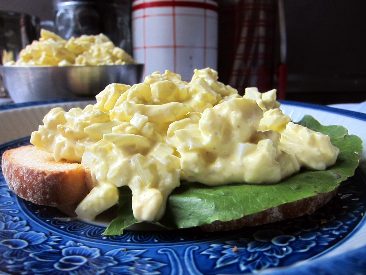 Egg Salad Sandwiches | Qwerty Cafe