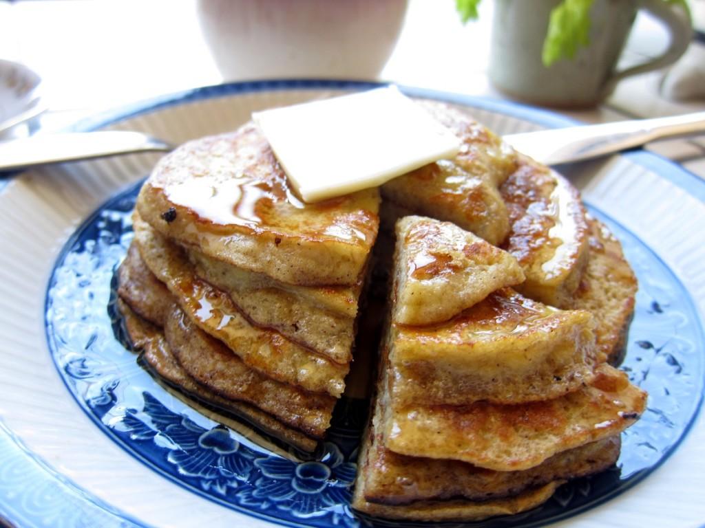 gluten free banana pancakes 3