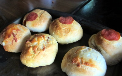 Pizza Stuffed Biscuit Balls