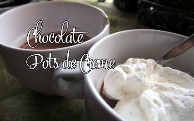 Chocolate Pots de Creme – Recipe Review